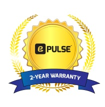 e-Pulse™ 2-Year Warranty