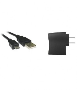 USB Cable - Micro + AC Adapter