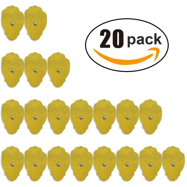 20-Pack of Large Replacement TENS Gel Pads-205