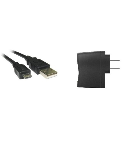 USB Cable - Micro + AC Adapter-0