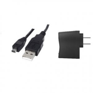 USB Cable - Micro 4 Pin + AC Adapter -0