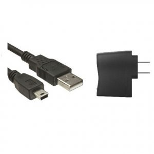 USB Cable - Mini + AC Adapter -0