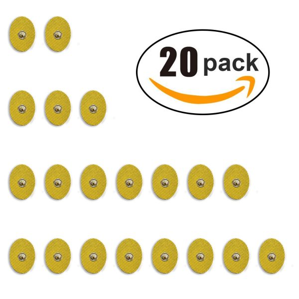 20-Pack of Small TENS Gel Pads-202